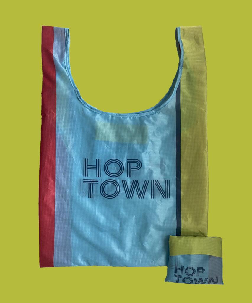 Custom Reusable Tote Bag branded merchandise