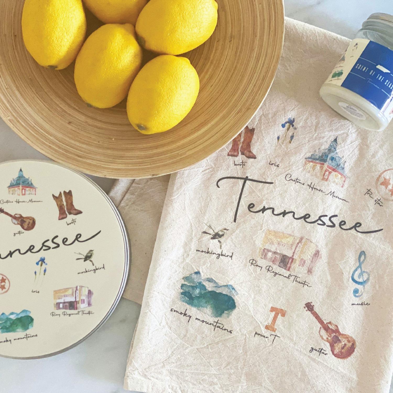 Tennessee Towel and Custom Tin