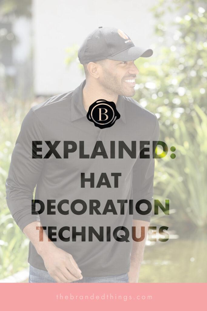 Hat Decoration Methods