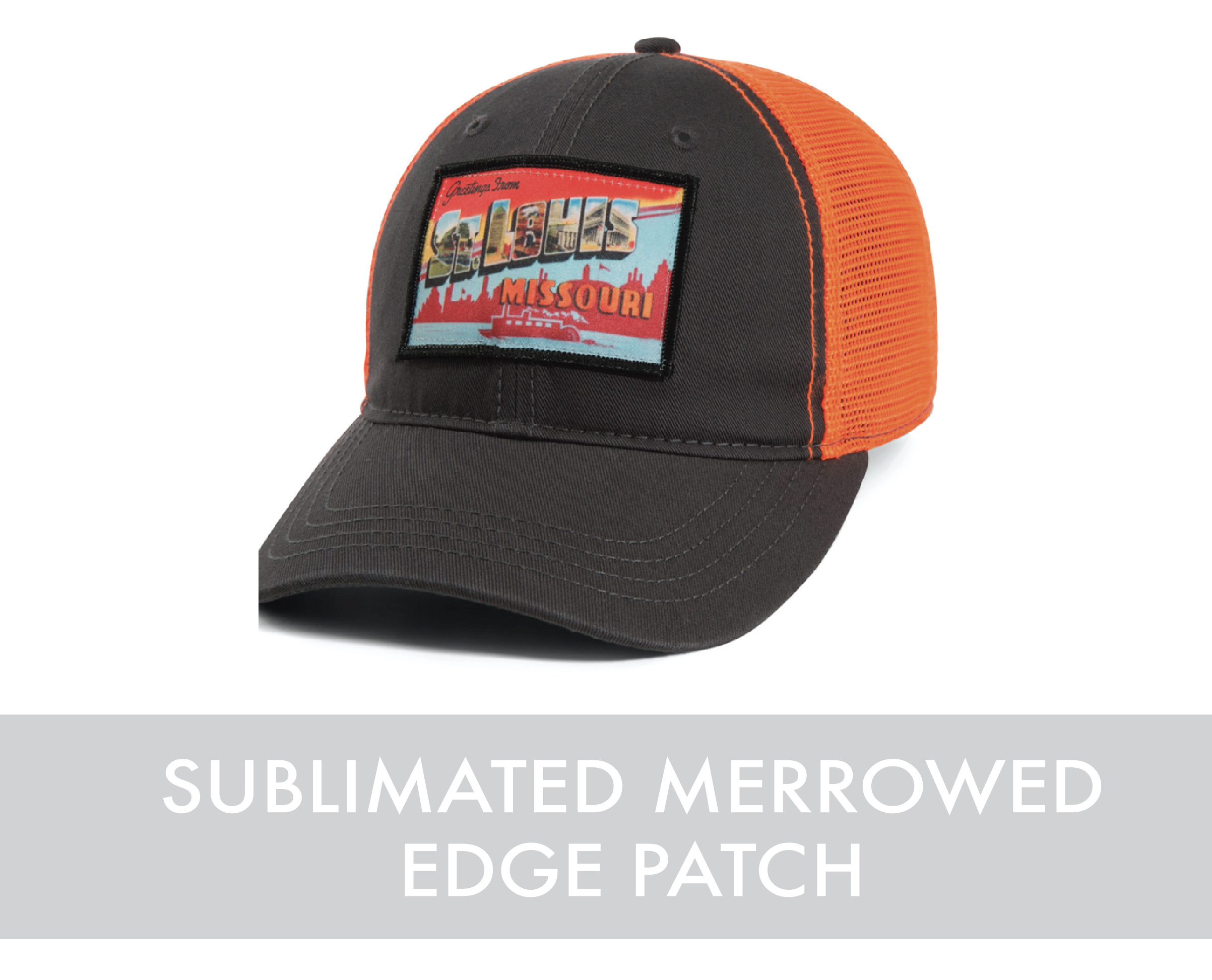 Sublimated Merrowed Edge Patch
