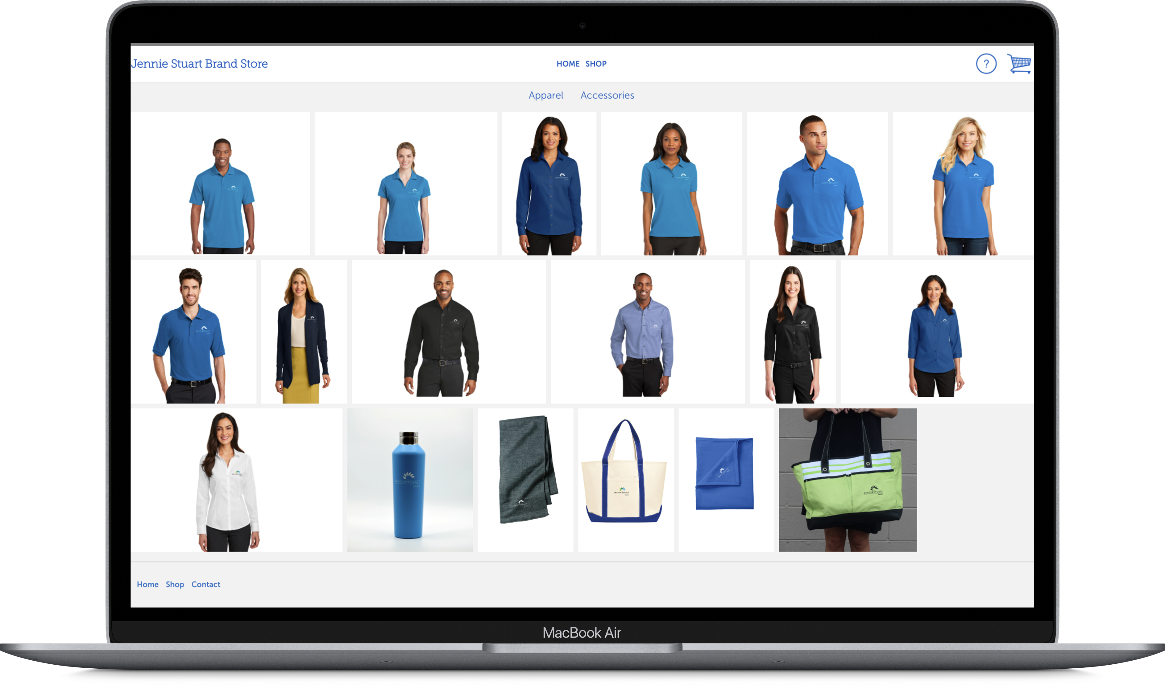 Corporate Online Store for Branded Merchandise