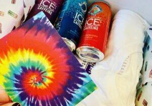 Sparkling-Ice-+Caffiene-Product-Launch-Custom-Tie-Dye-Kit