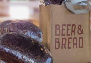 Beer & Bread Washable Paper Bag